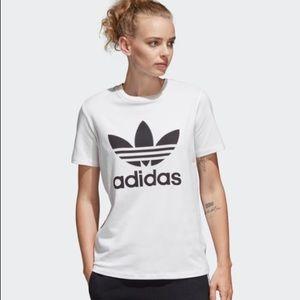 Adidas Logo Tee - Women's Size M